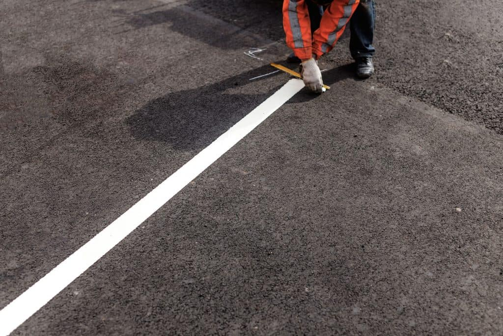 The Line Marking System Performs It Easy To Place Straight Lines On The Floor